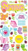 Spring Shower Sticko Stickers