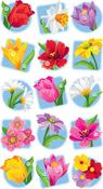 Floral Seal Stickers
