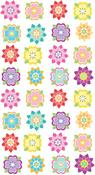 Mini Flower Repeat Stickers