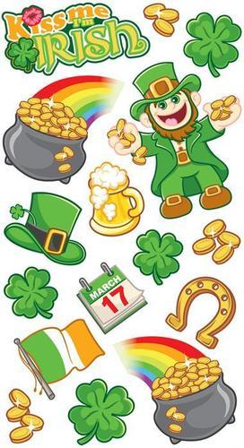 March 17 St. Patricks Stickers