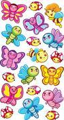 Butterfly Epoxy Foil Stickers