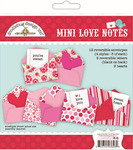 Mini Love Notes - Sweetheart - Doodlebug