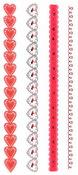 Handmade Valentine Die-cut Borders - Martha Stewart Crafts