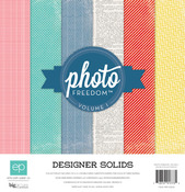 Volume I Solids Collection Kit - Photo Freedom - Echo Park