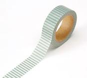 Green/White Washi Tape - Darice