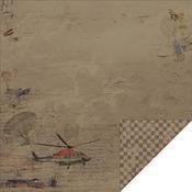 Flying High Paper - Adrenaline - FabScraps