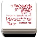 Crimson Red VersaFine Small Ink Pad - Tsukineko