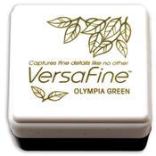 Olympia Green VersaFine Small Ink Pad - Tsukineko