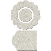 Flower Shape - Little Peeps - FabScraps
