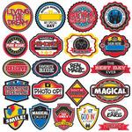 Real Magic 12 x 12 Die Cut Sticker #1 Sheet - Reminisce