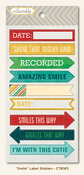 Remarkable Label Stickers - Collectable - My Minds Eye