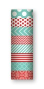 Red & Turquoise Decorative Tape Set - My Mind's Eye
