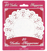 "White 5.5"" Paper Doilies"