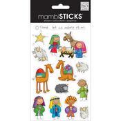 Nativity Mambi Mini Stickers - Me & My Big Ideas