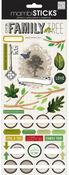 Family Tree Cardstock Stickers - Me & My Big Ideas