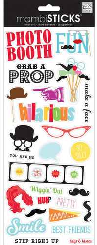 Photo Booth Packaged Stickers - Me & My Big Ideas