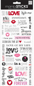 Love Kiss Me Stickers - Me & My Big Ideas