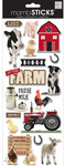 Barn Yard Animals Stickers - Me & My Big Ideas