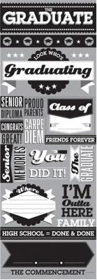 The Graduate Die Cut Stickers - Reminisce