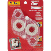 Permanent Glue Runner 2 Refills - Ad Tech