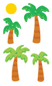 Palm Trees & Suns Stickers - Mrs. Grossmans