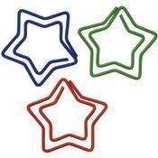 Star Shape Mulit Color Paper Clips