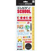School Cardstock Stickers - MambiSticks - Me & My Big Ideas