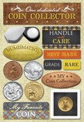 Coin Collecting Stickers