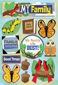 My Family Cardstock Stickers