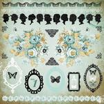 75 Cents 12 x 12 Sticker Sheet - KaiserCraft