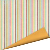 Fruit Stripe Paper - Childhood Memories - Imaginisce