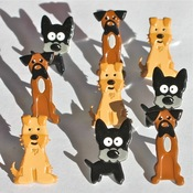 Puppy Eyelet Outlet Brads