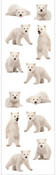 Polar Bear Cubs Stickers, Mrs. Grossmans