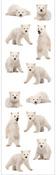 Polar Bear Cubs Stickers, Mrs. Grossmans