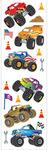 Monster Trucks Stickers, Mrs. Grossmans