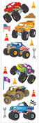 Monster Trucks Stickers, Mrs. Grossmans