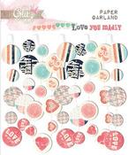 Love You Madly Paper Garland, Glitz