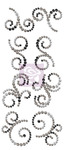 Mini Swirls Say It In Crystals - Engraver - Prima