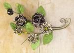 Engraver Paper Flower Vines - Prima