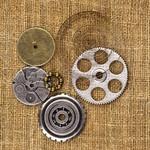 Washers 2 Vintage Mechanicals - Prima