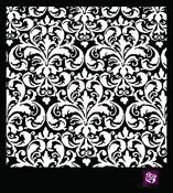 Flourish 6 x 6 Stencil - Prima