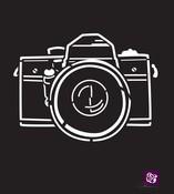 Camera 6 x 6 Stencil - Prima