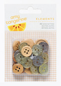 Elements Mixed Buttons - Yes Please - Amy Tangerine