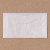 """Glassine Envelopes, 2.5"""" x 4.25"""", 10/pk"""
