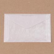 """Glassine Envelopes, 3 1/8"""" x 5 1/16"""", 6/pk"""