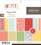 Snippets 6 x 6 Paper Pad - Studio Calico