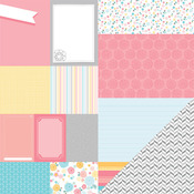 Sunny Savannah Paper - My Girl - American Crafts