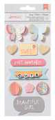 My Girl Dimensional Stickers - American Crafts