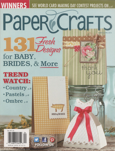 Paper Crafts Magazine March/April Edition