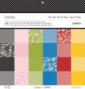 Basics 12 x 12 Paper Pad - Pebbles